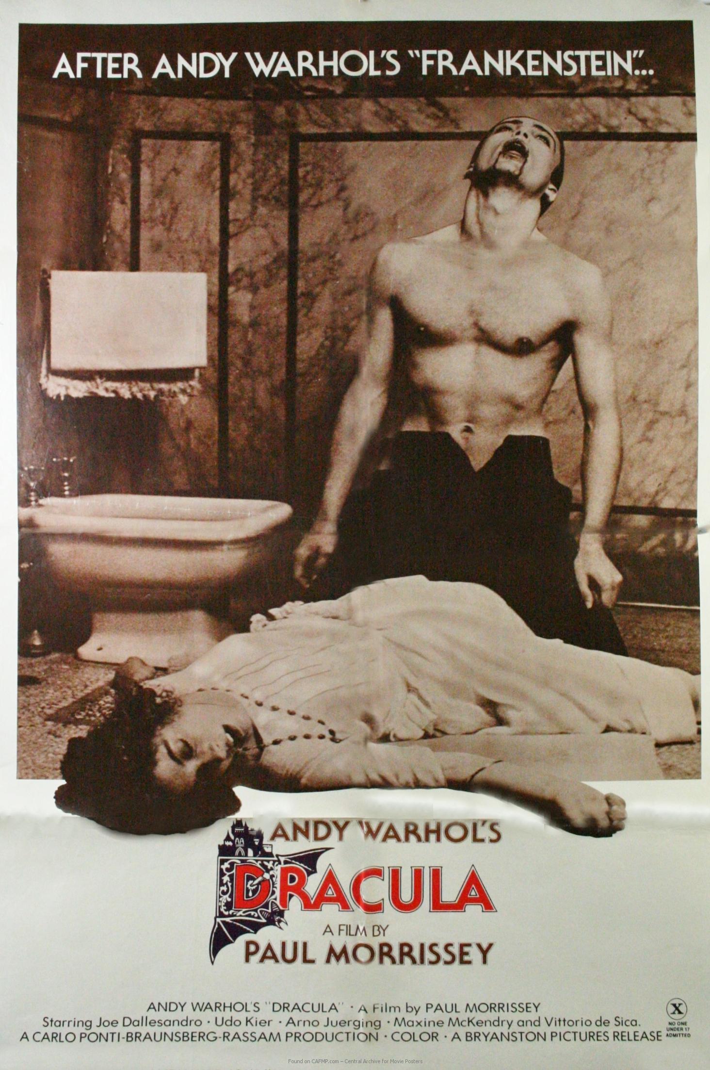Movie Poster »Warhols Dracula« on CAFMP