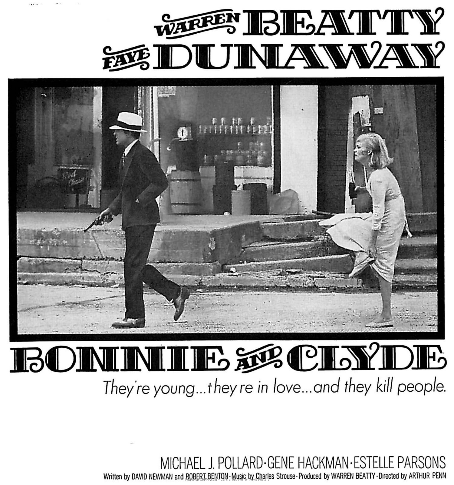 a comparison of clyde barrow and bonnie parker upon the burst in american southwest in the great dep