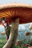 Alice in Wonderland - Mushroom Banner