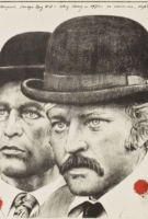Butch Cassidy and the Sundance Kid - Polish Painting