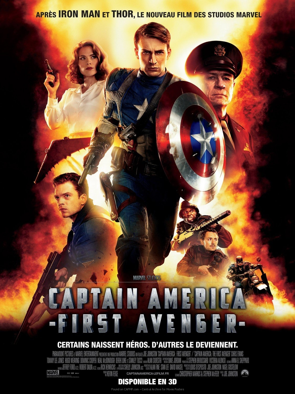 Filmplakat »Captain America The First Avenger« auf CAFMP