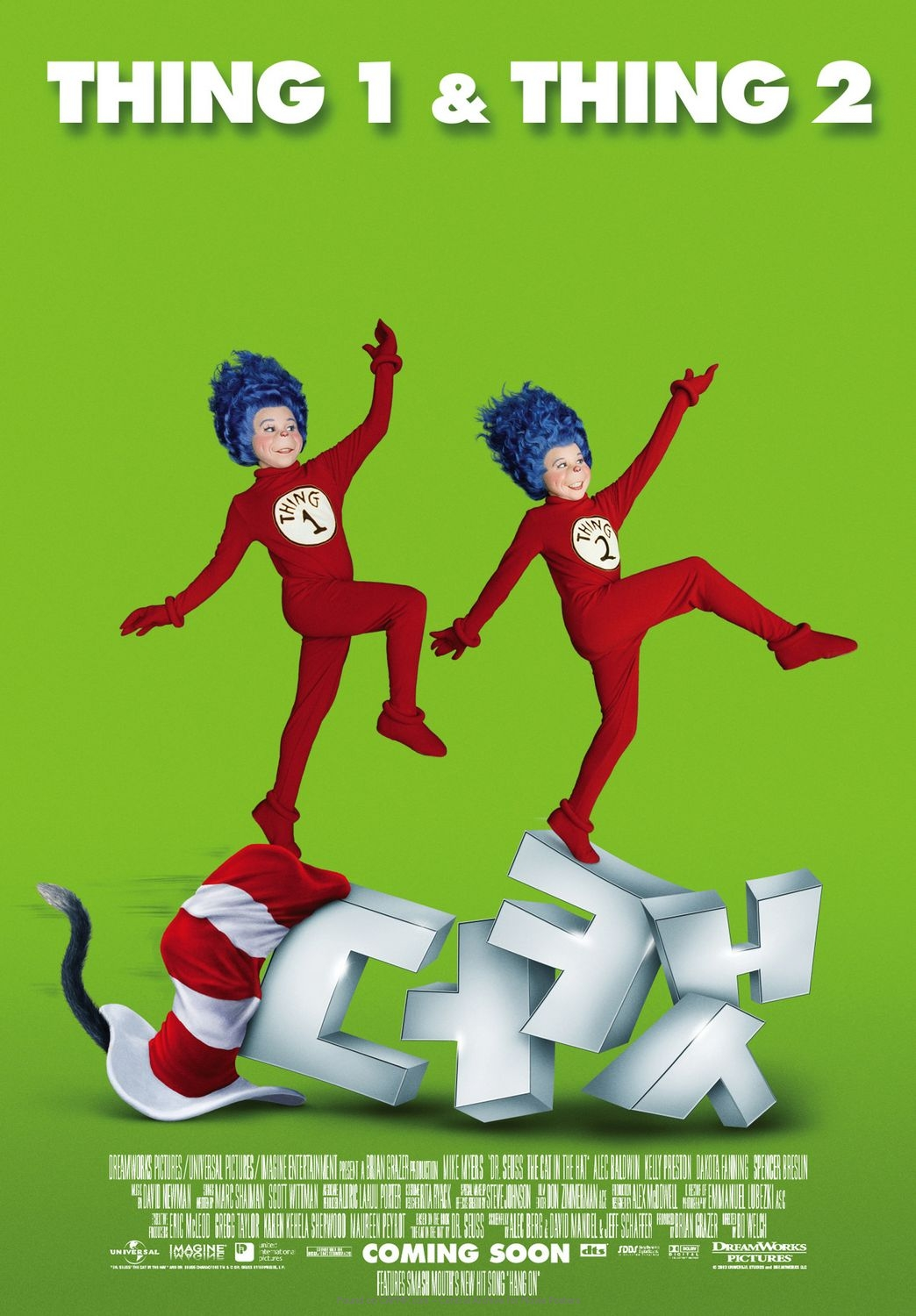 movie poster thing 1 u0026 thing 2 on cafmp