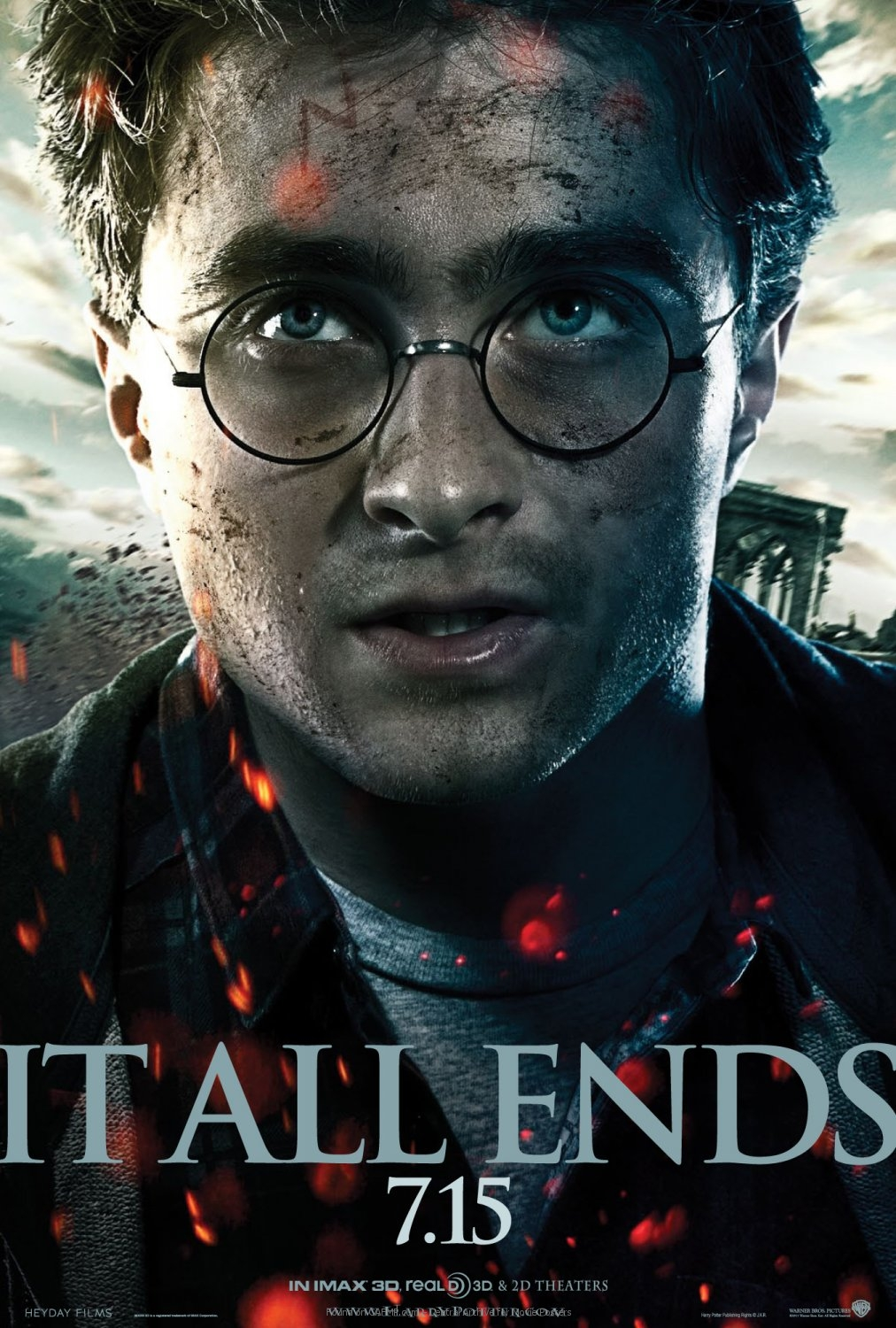 Movie Poster Daniel Radcliffe Is Harry Potter On Cafmp