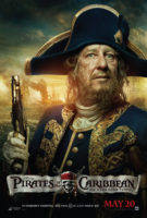 Geoffrey Rush is Captain Barbossa