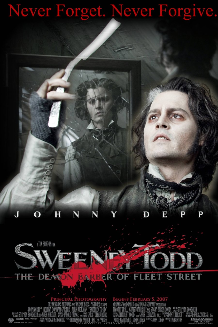 movie poster 187sweeney todd171 on cafmp