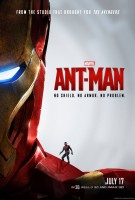 Ant Man on Iron Man