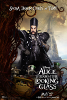 Alice Through the Looking Glass - Character - Sacha Baron Cohen as Time