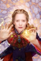 Mia Wasikowska is Alice Kingsleigh in Alice Through the Looking Glass.