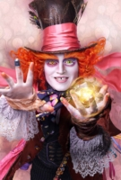 Johnny Depp is Hatter Tarrant Hightopp