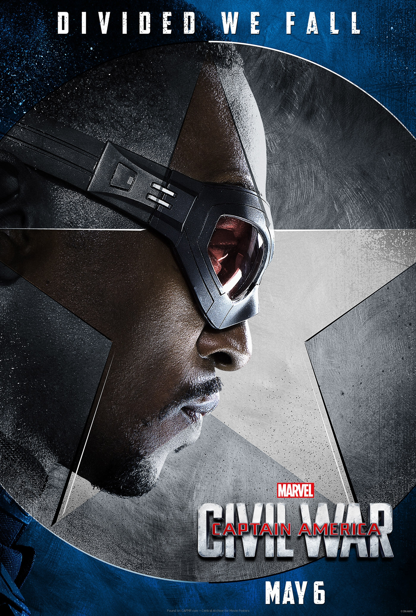 Movie Poster »Anthony Mackie is Falcon« on CAFMP
