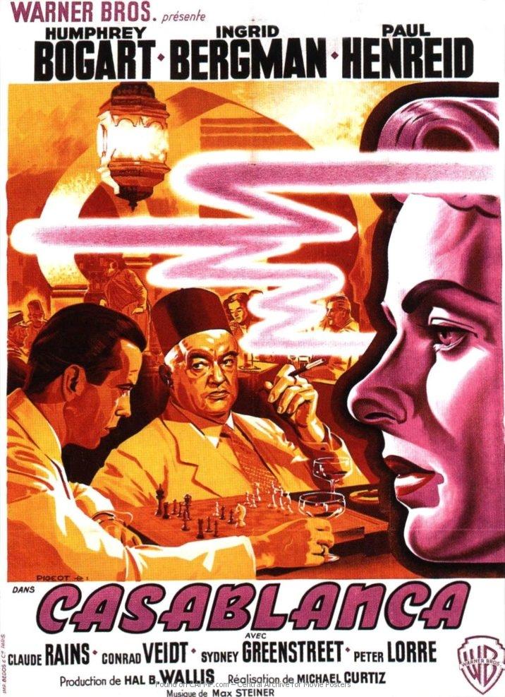 Casablanca Filmplakat