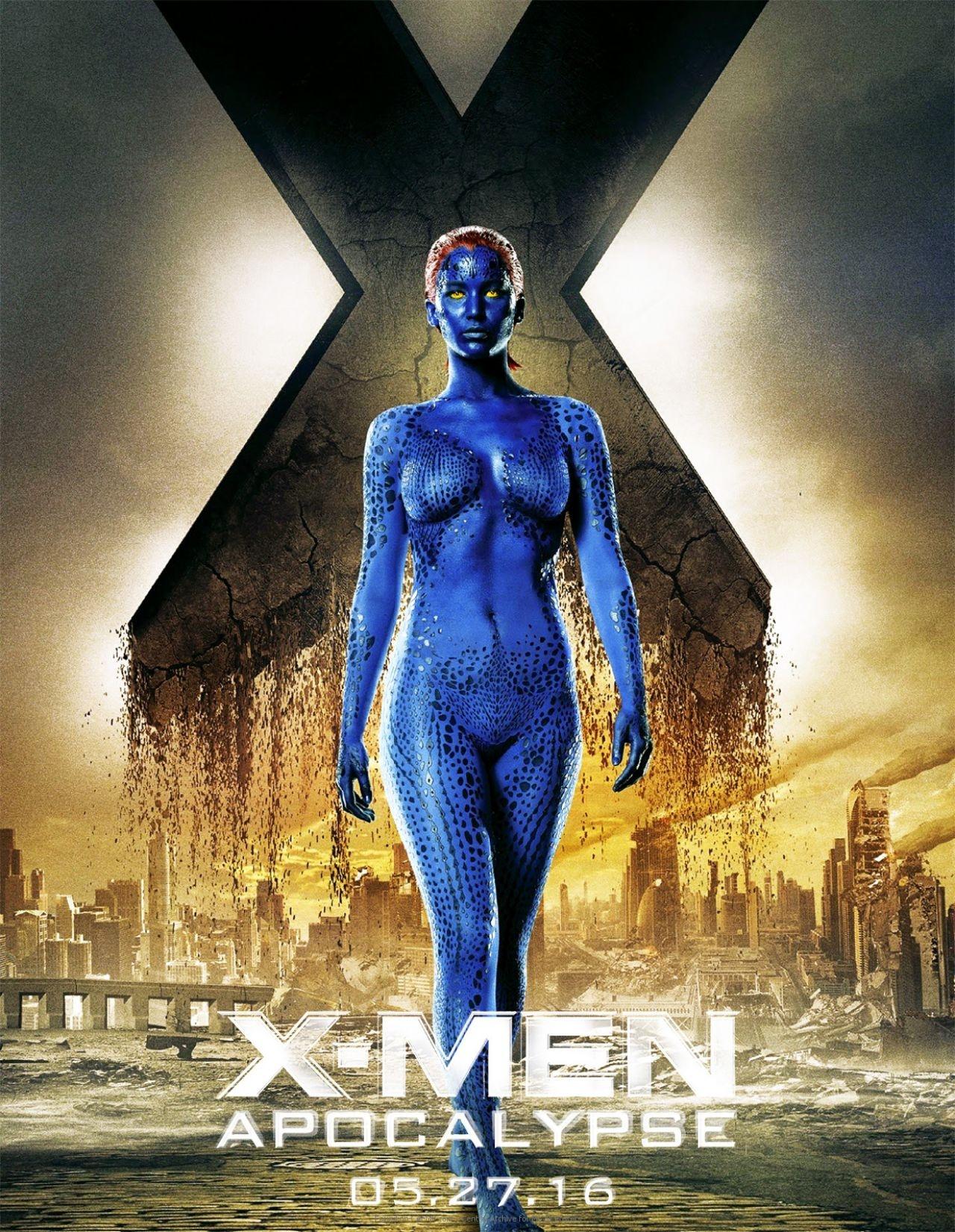 movie poster 187jennifer lawrence is mystique171 on cafmp