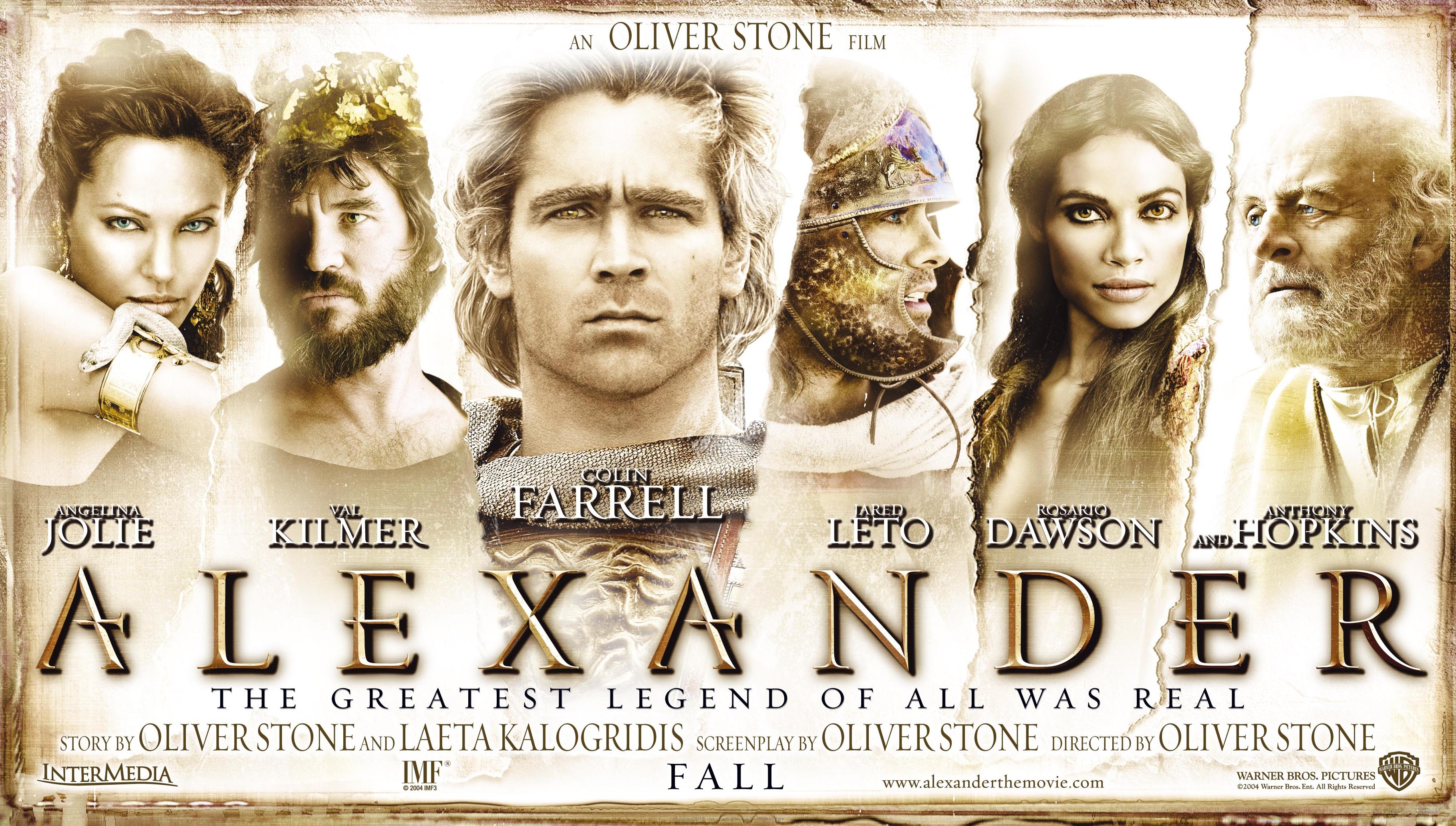 movie poster alexander banner on cafmp