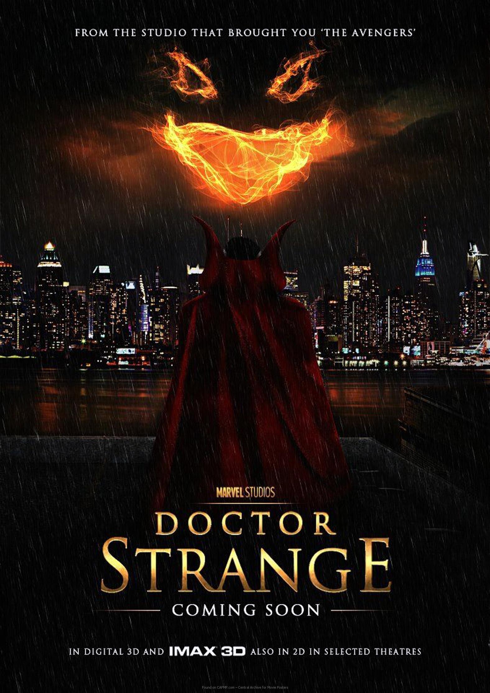 Movie Poster »Doctor Strange« on CAFMP